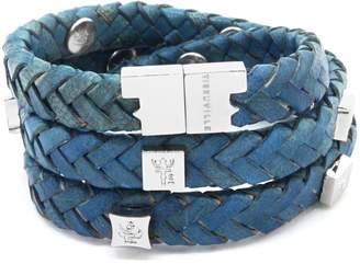 Brio Tissuville Bracelet Royal Blue Silver