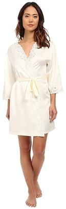 Lauren Ralph Lauren Satin Wrap Robe