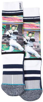 Stance Classic Pique Reggie Jackson Crew Socks