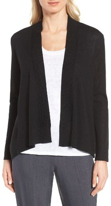 Women's Nordstrom Collection Cashmere & Linen Cardigan $199 thestylecure.com