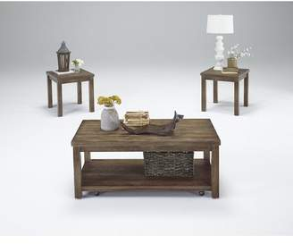 Rosecliff Heights Nashua 3 Piece Coffee Table Set