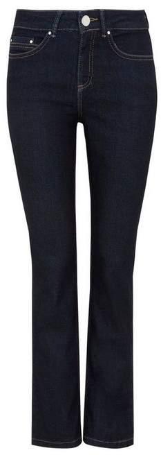 Petite Indigo Harper Straight Leg Jean