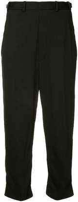 Neil Barrett twisted seam cropped trousers