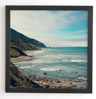 East Urban Home California Pacific Coast Highway Framed Photographic Print
