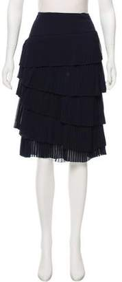 Ralph Lauren Pleated Knee-Length Skirt