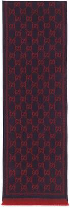 Children's GG pattern wool scarf $125 thestylecure.com