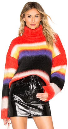 Diane von Furstenberg Chunky Stripped Turtleneck