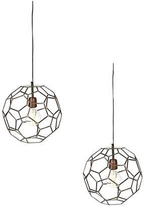 Amalfi by Rangoni Avery Pendant Light (Set of 2)