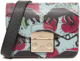 Furla Metropolis Mini Cross Body Bag $378 thestylecure.com