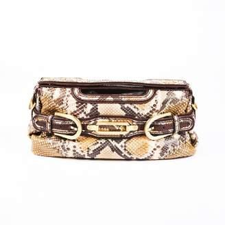 Jimmy Choo Brown Exotic leathers Handbags