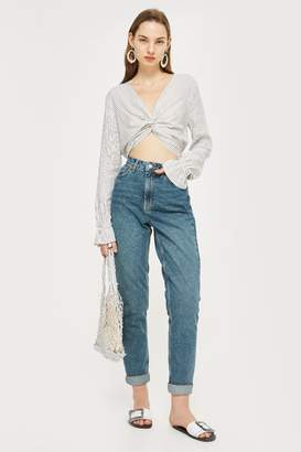 Topshop TALL Authentic Mom Jeans