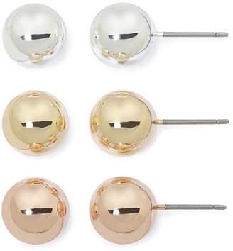 MIXIT Sensitive Ears 3-pr. Stud Earring Set