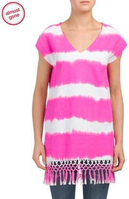 Fia Tie Dye Beach Tunic