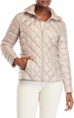 Lauren Ralph Lauren Shaped Packable Quilted Down Jacket