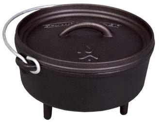 "Camp Chef Classic 8"" Dutch Oven - 2 Quart Pre-Seasoned Cast Iron Pot"