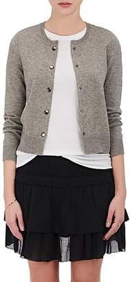Isabel Marant Étoile Women's Kallie Cotton-Wool Crop Cardigan $220 thestylecure.com