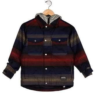 Burton Boys' Stripe Hooded Jacket