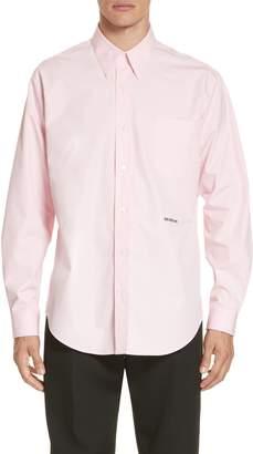 Calvin Klein Long Sleeve Poplin Shirt