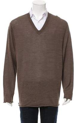 Inhabit Linen V-Neck Sweater w/ Tags