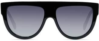 2eff29720dbc Celine Women s Polarized Flat Top Aviator Sunglasses