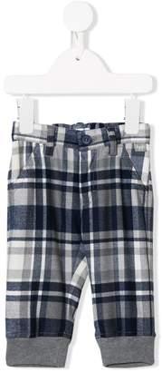 Il Gufo checked print trousers