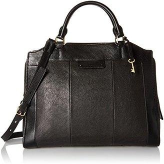 Fossil Logan Work Bag - Wine Shoulder Bag $328 thestylecure.com