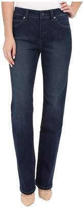 Miraclebody Jeans Six-Pocket Abby Straight Leg Jeans in Seattle Blue Women's Jeans