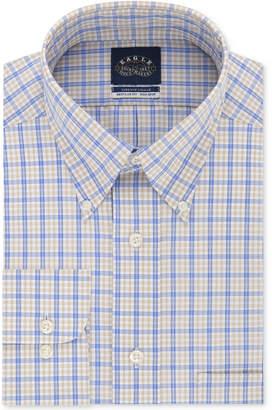 Eagle Men's Classic/Regular Fit Non-Iron Flex Collar Check Dress Shirt