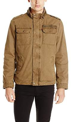Levi's Men's Washed Cotton Two Pocket Military Jacket