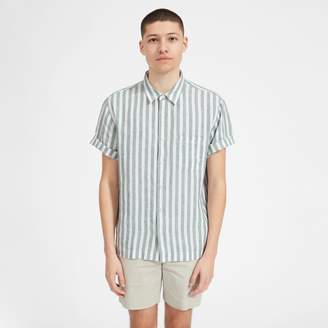Everlane The Linen Relaxed Fit Short-Sleeve Shirt