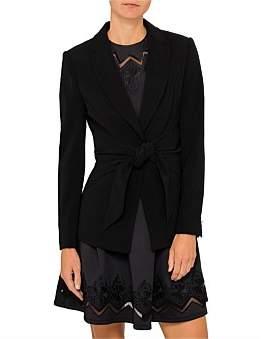 Ted Baker Jilla Wrap Feature Suit Jacket