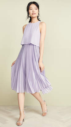 Jason Wu Grey Chiffon Overlay Dress