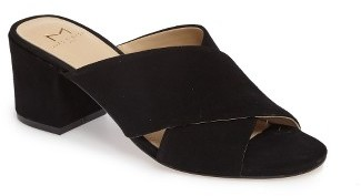 Women's Marc Fisher Ltd Rinna Crisscross Slide $139.95 thestylecure.com