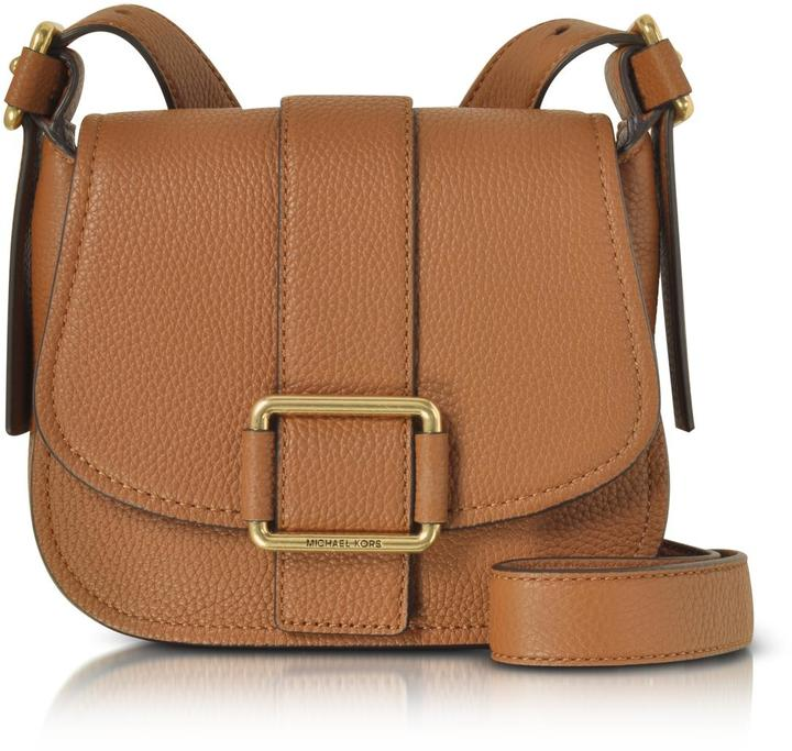 MICHAEL Michael KorsMichael Kors Maxine Medium Leather Saddle Bag