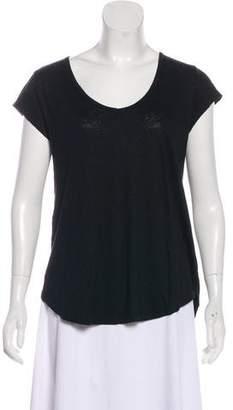 Calypso Scoop Neck Short Sleeve T-Shirt