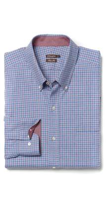 J.Mclaughlin Westend Trim Fit Flannel Shirt in Tattersall Check
