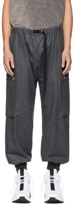 Stella McCartney Grey Wool Cargo Pants