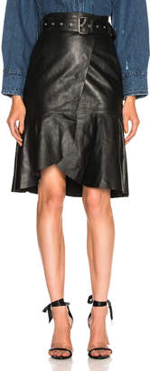 Miss Sixty Palmer Girls x Leather Skirt