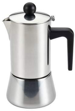 Bonjour Stainless Steel Espresso Maker