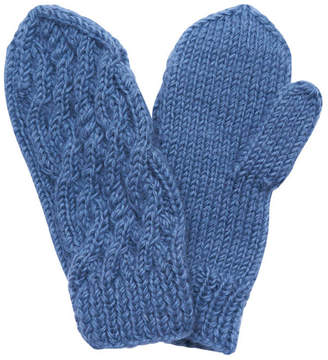 Bibico Hand Knit Wool Mittens