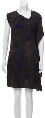 Zero Maria Cornejo Draped Mini Dress