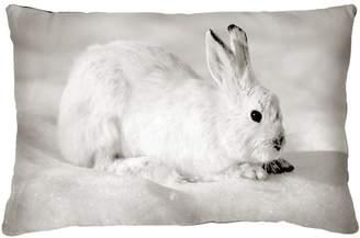 Snow Bunny Pillow