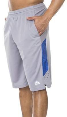 "RBX Men's 12"" Poly Novelty Mesh Basketball Shorts"