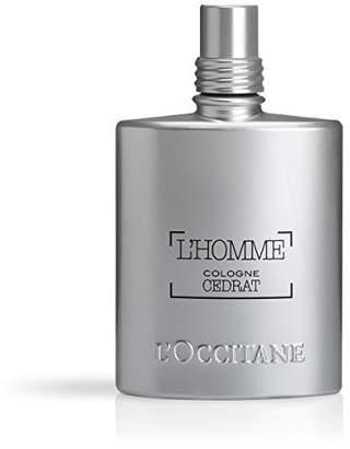 L'Occitane Zesty & Aquatic L'homme Cologne Cedrat Eau De Toilette for Men
