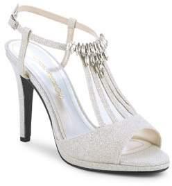Caparros Ohara Glitter Embellished Heels