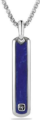 David Yurman Exotic Stone Tag with Lapis Lazuli