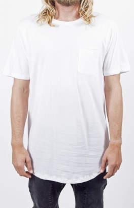LIRA White Camp Knit T-Shirt