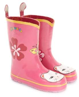 Kidorable 'Cat' Waterproof Rain Boot