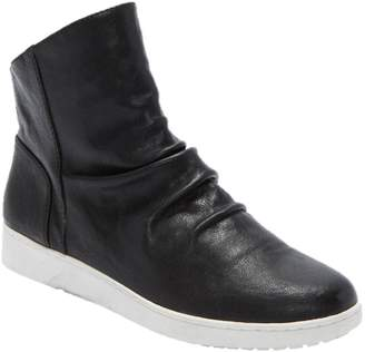 b6e5134a605 Tucker Adam Leather High-Top Ruched Sneakers -Rue