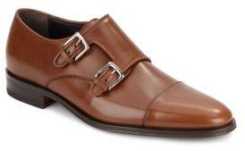 Bruno MagliWesley Leather Monk-Strap Shoes